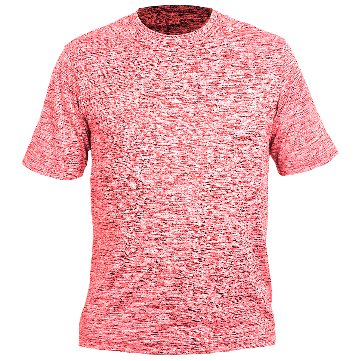 Electric Heather Tee-Red-YM