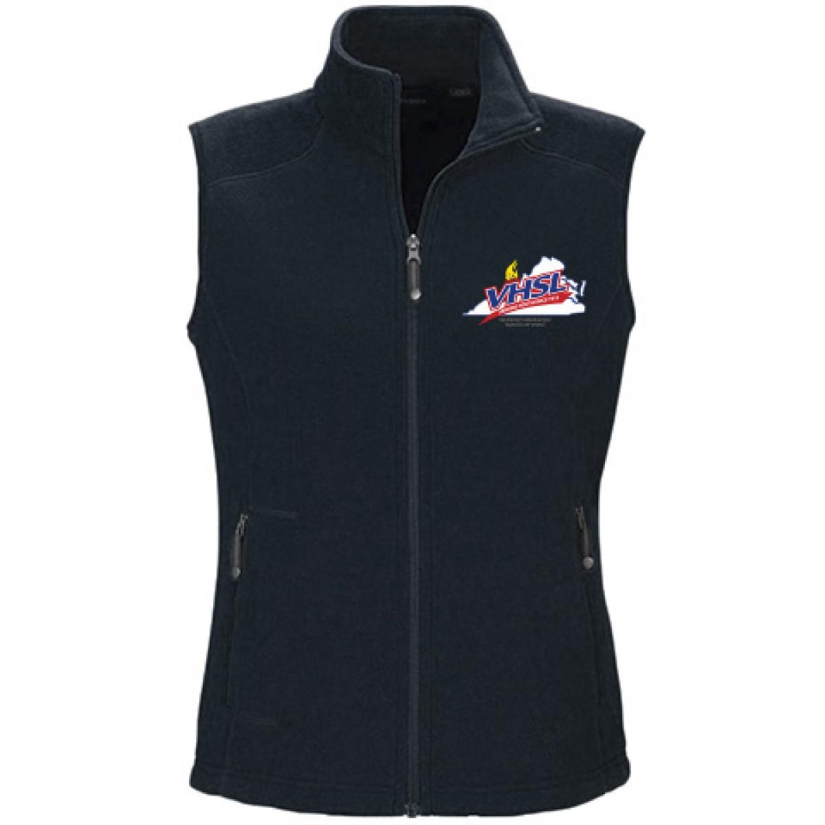 Ash City Embroidered Ladies Vest-Navy-XL