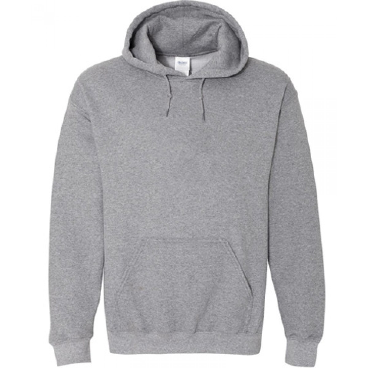 Hooded Sweatshirt 50/50 Heavy Blend-Gray-YM