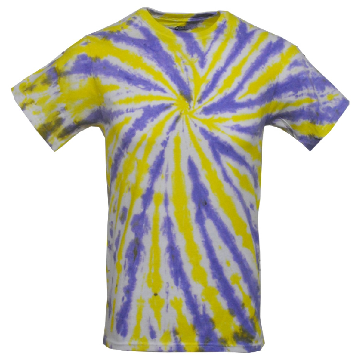 Tie Die Tshirt Purple/Yellow size S