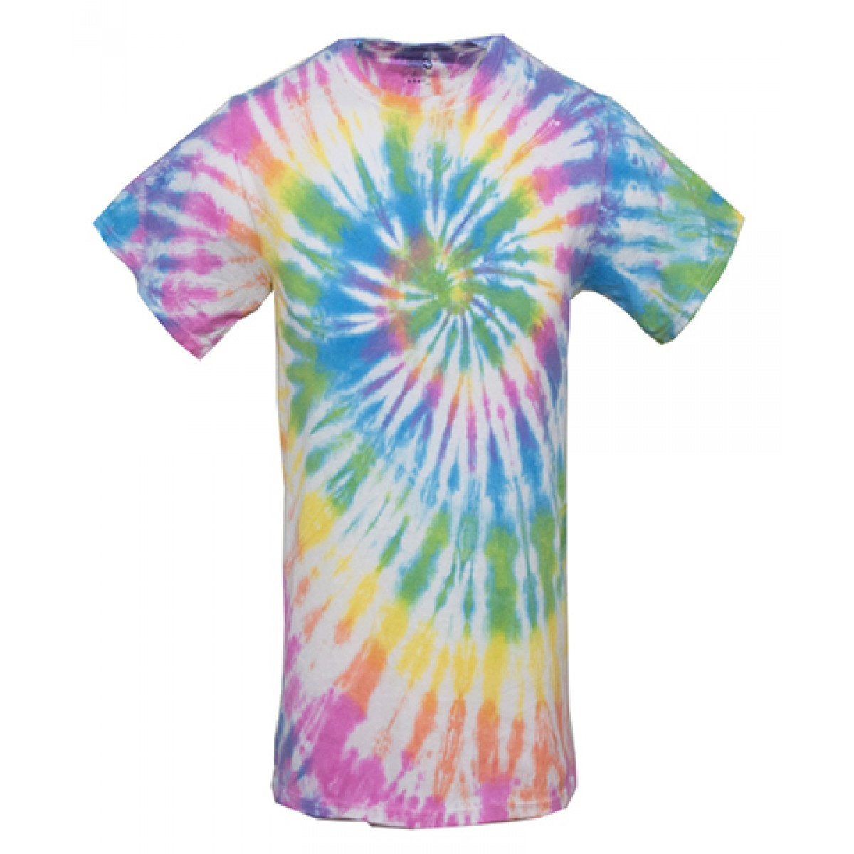 Tie-Dye Short Sleeve Shirts-Multi -YM