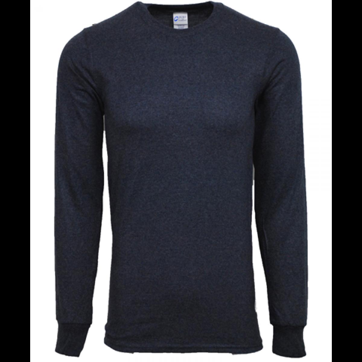 Ultra Cotton Long-Sleeve T-Shirt Ohio-Blue-M
