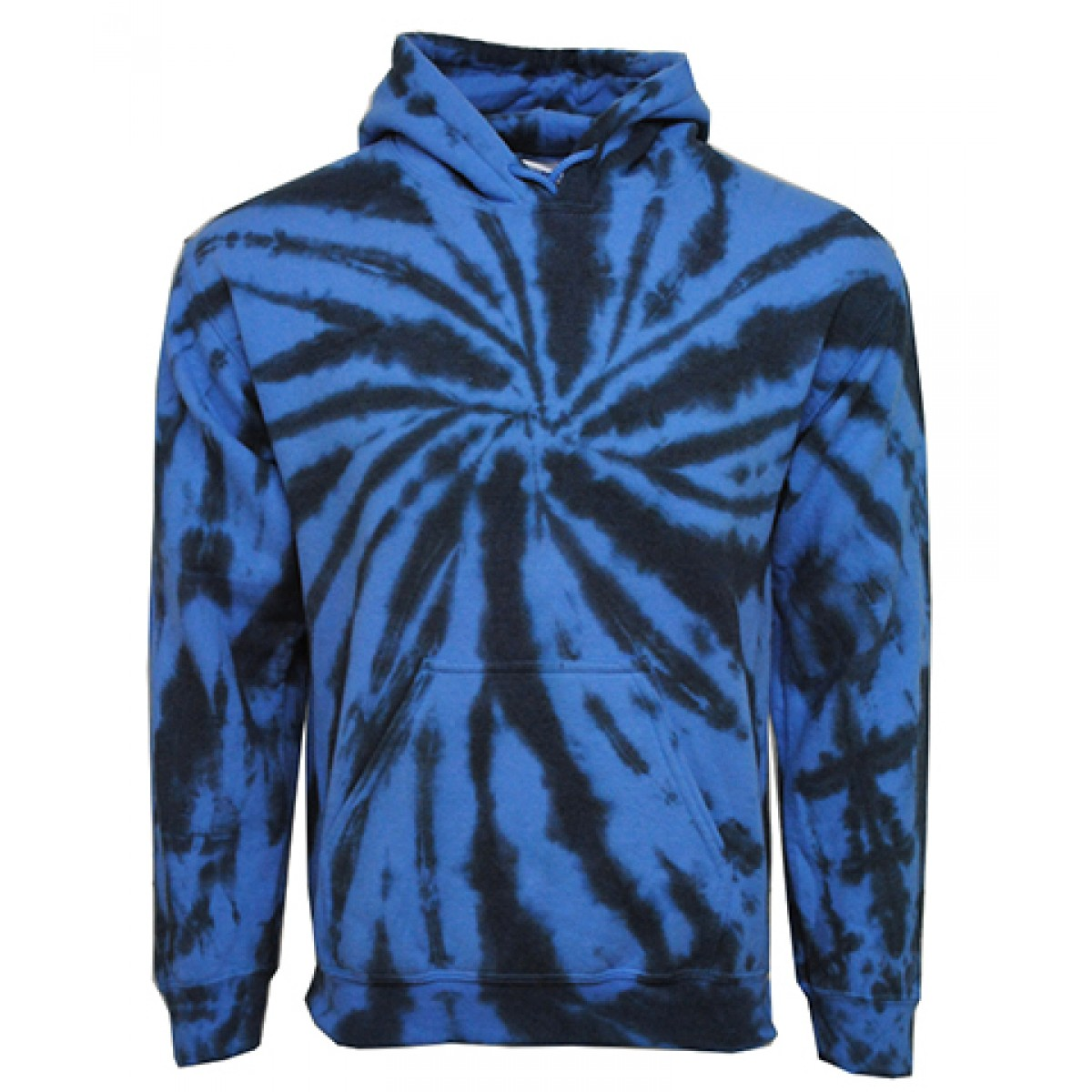 Tie die Hooded Sweatshirts  50/50 Heavy Blend