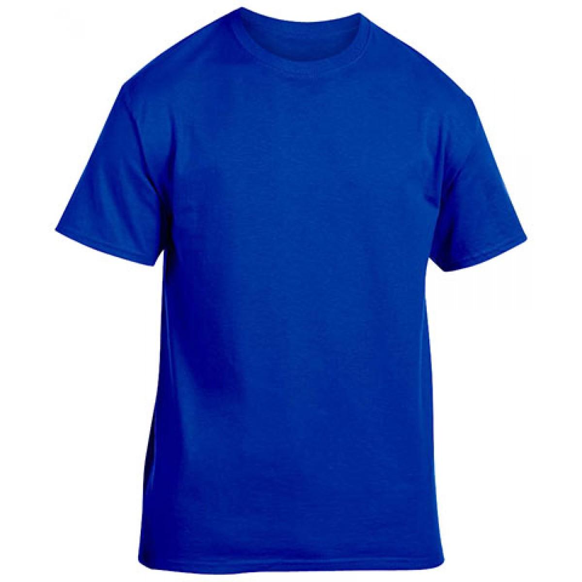 Heavy Cotton Activewear T-Shirt-Navy-L