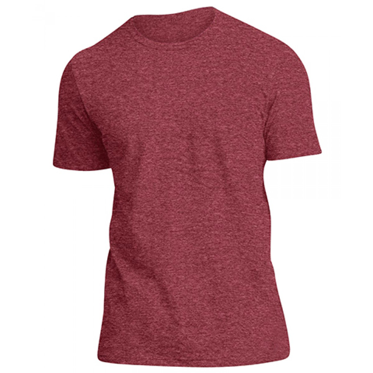 Mens Very Important Tee-Heathered Red-L