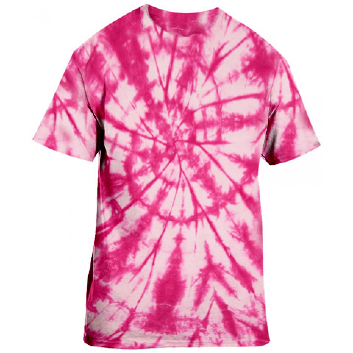Pink Tie-Dye S/S Tee -Pink-3XL