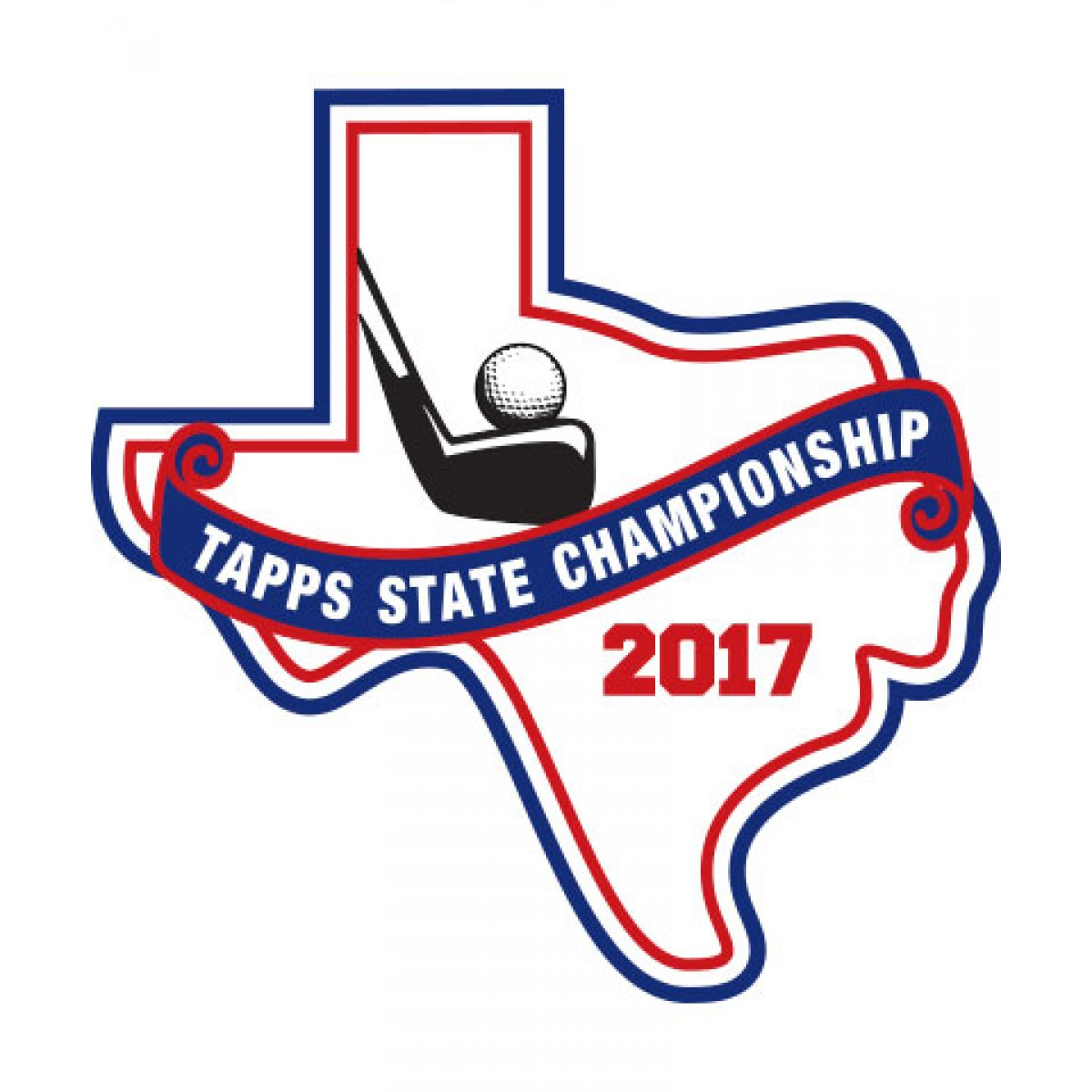 Felt 2017 TAPPS Golf State Patch