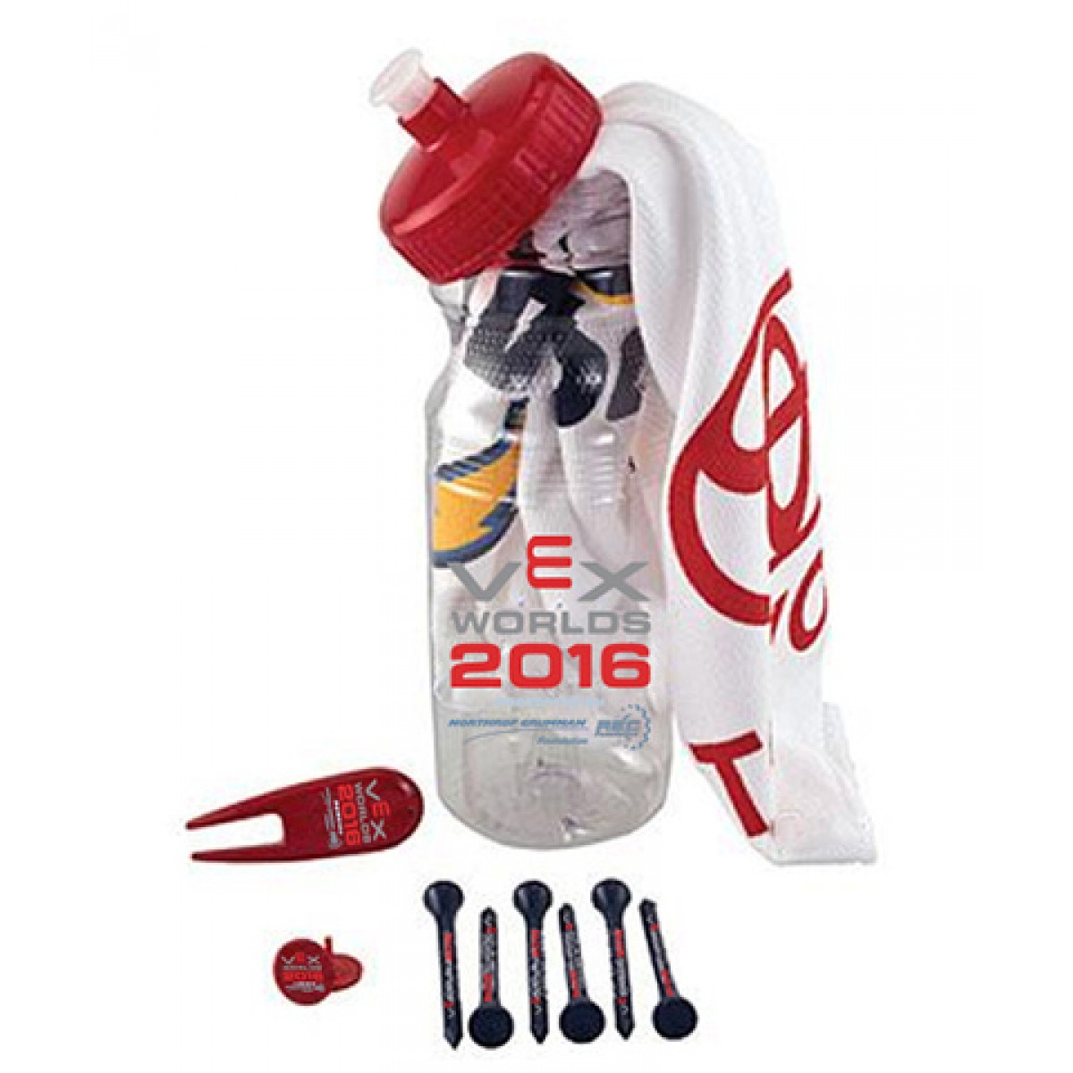 Cart Caddie Kit-Red-OS