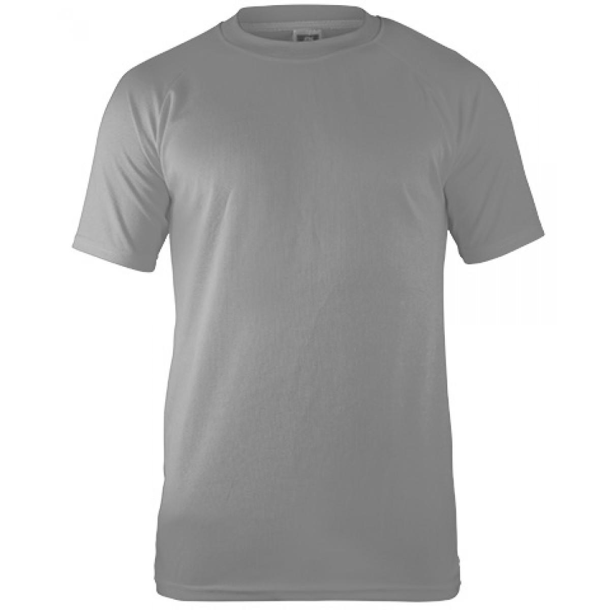 Performance T-shirt-Gray -XS