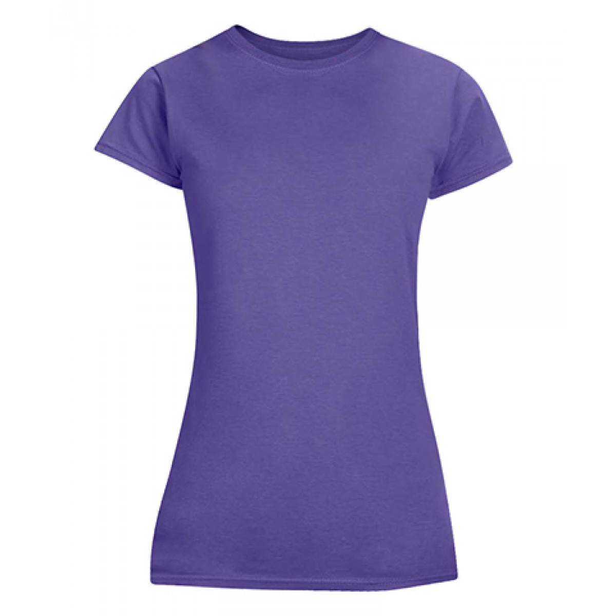 Junior Fit T-Shirt-Purple-L