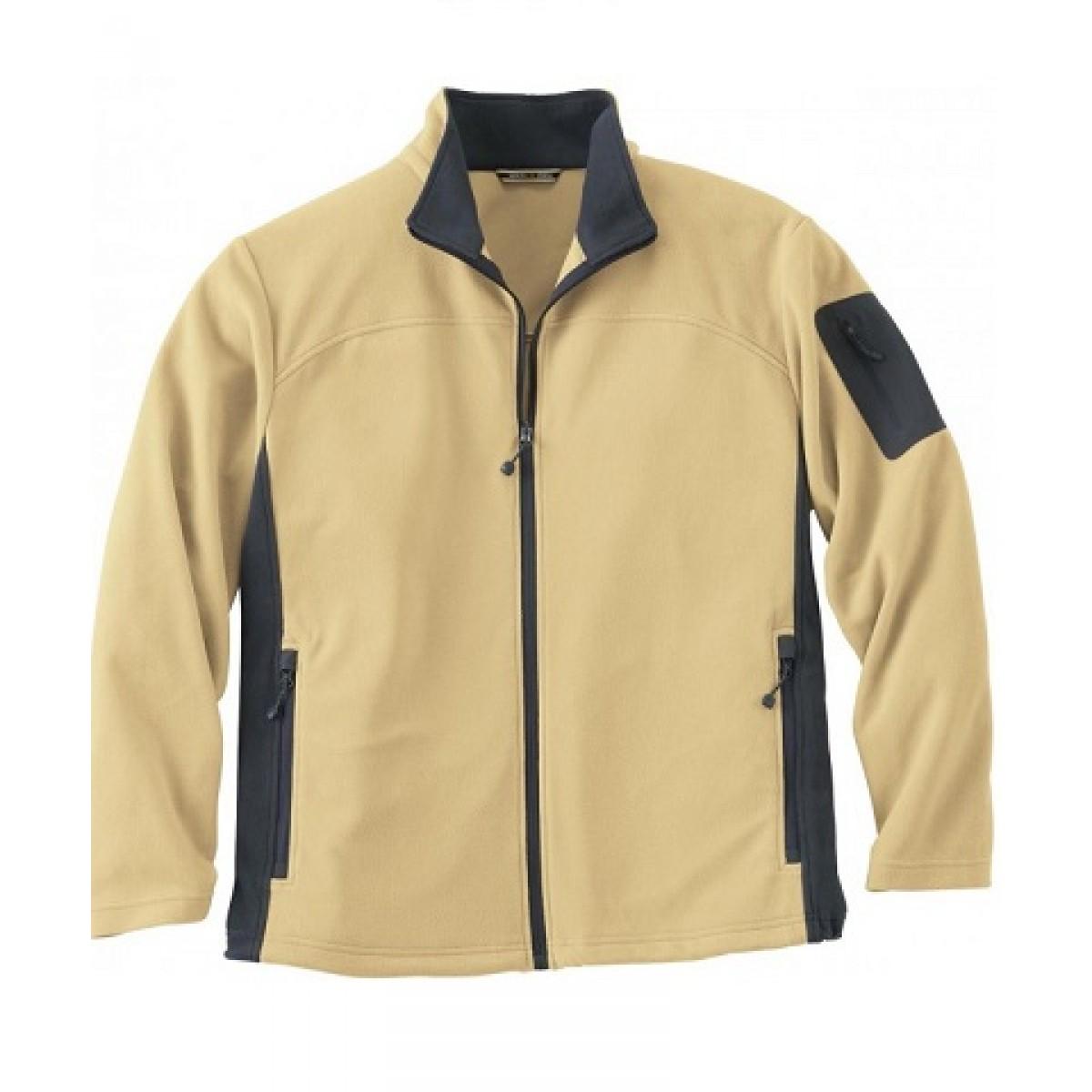 Men's Microfleece Jacket Caramel -L