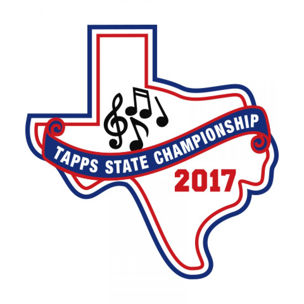 Felt 2017 TAPPS Music State Patch