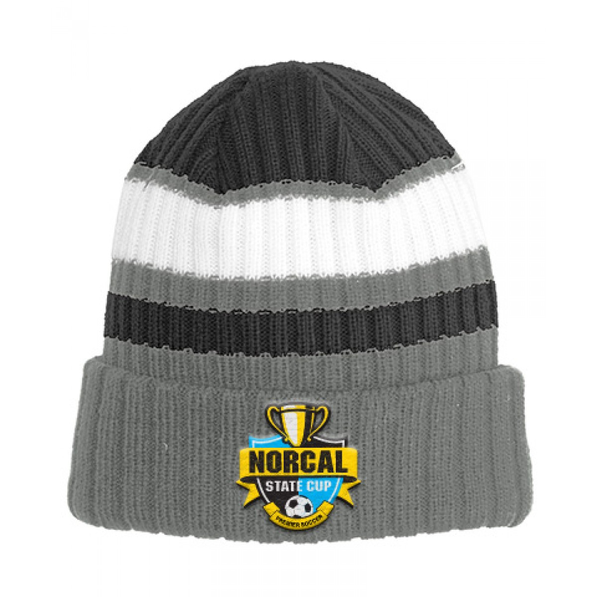 Embroidered New Era Ribbed Tailgate Beanie
