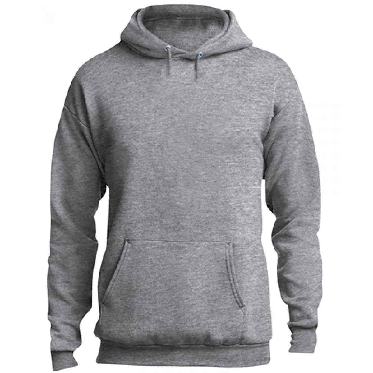 Classic Pullover Hooded Sweatshirt-Athletic Heather-XL
