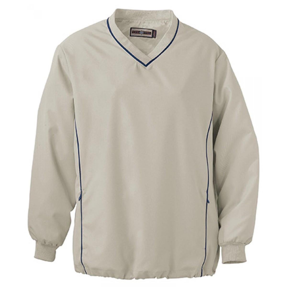 Ladies' MICRO Plus Windshirt -Putty-XL