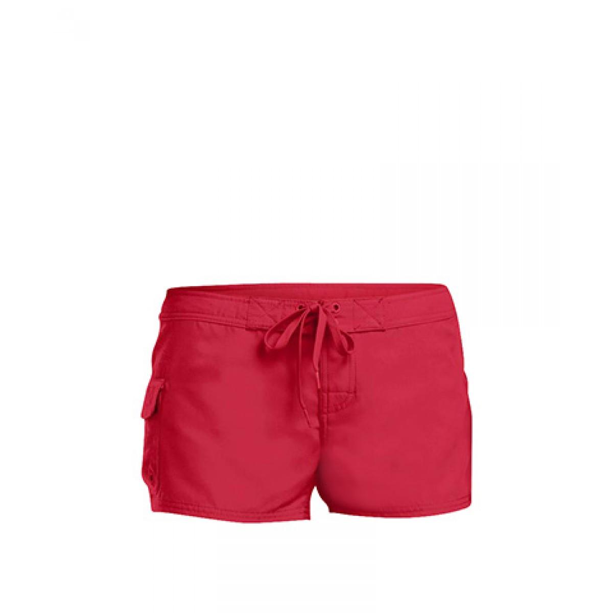 Juniors Boardshort-Red-2XL