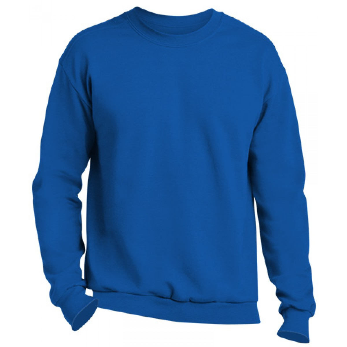 Crewneck Sweater -Royal Blue-XL