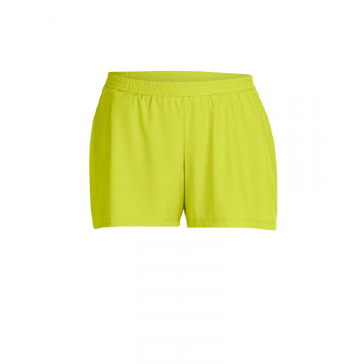 Ladies' Performance Shorts-Safety Green-XL