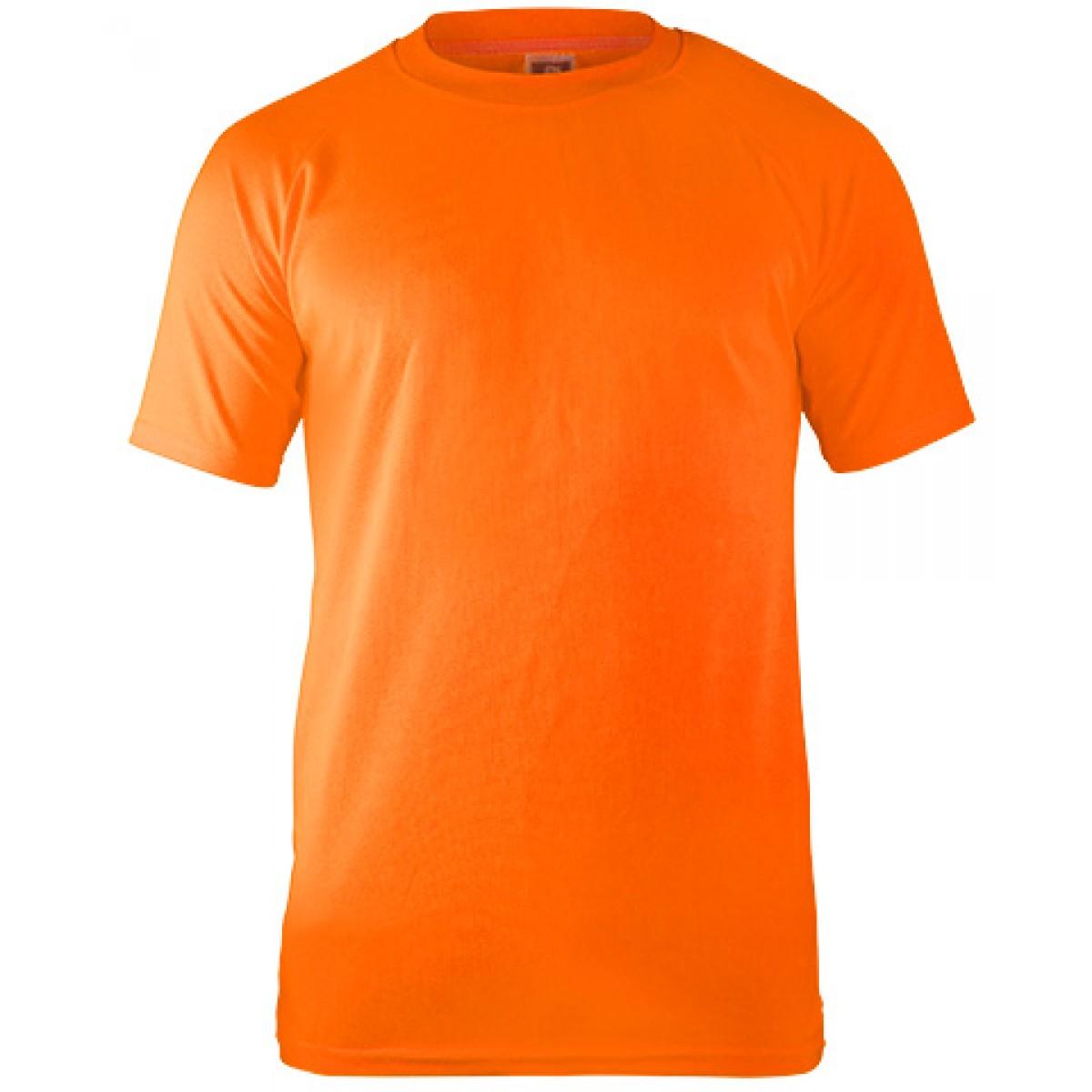 Performance T-shirt-Safety Orange-YS