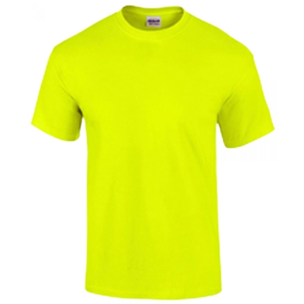 Cotton Short Sleeve T-Shirt / Safety Green