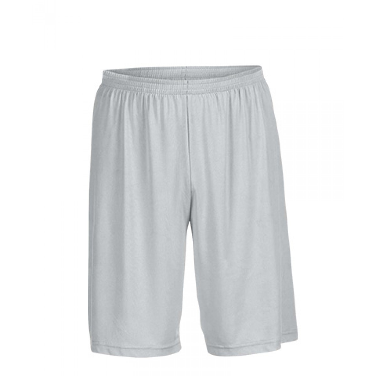 Men's Performance Shorts-Silver-L