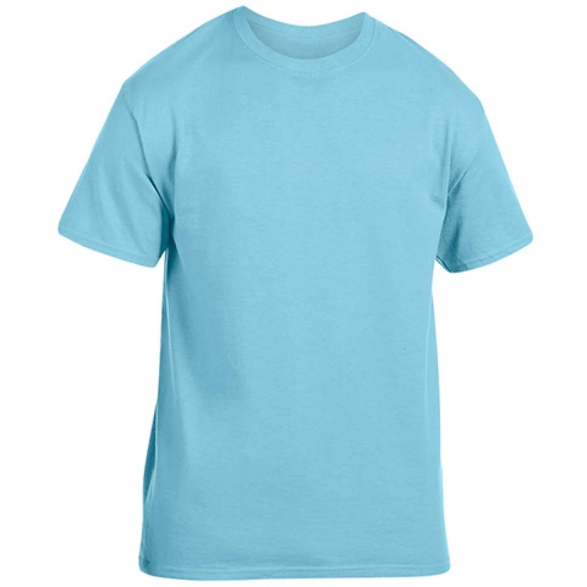Soft 100% Cotton T-Shirt-Sky Blue-YL