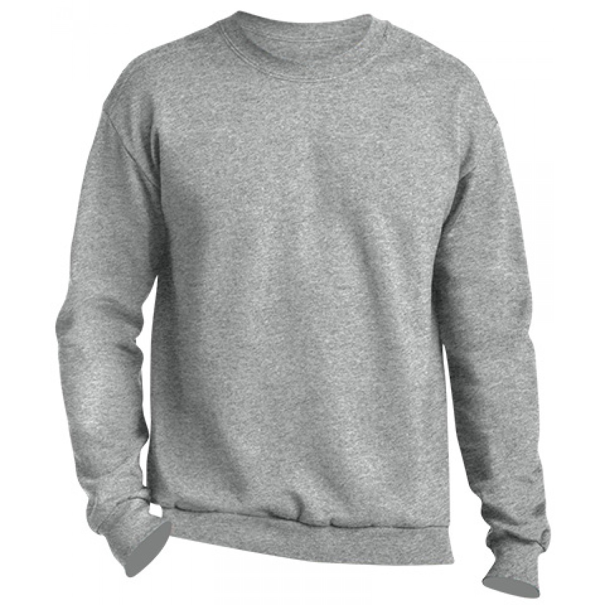 Crewneck Sweater -Sports Grey-YL