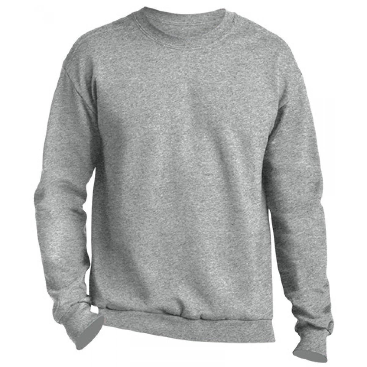 Crewneck Sweater -Sports Grey-2XL