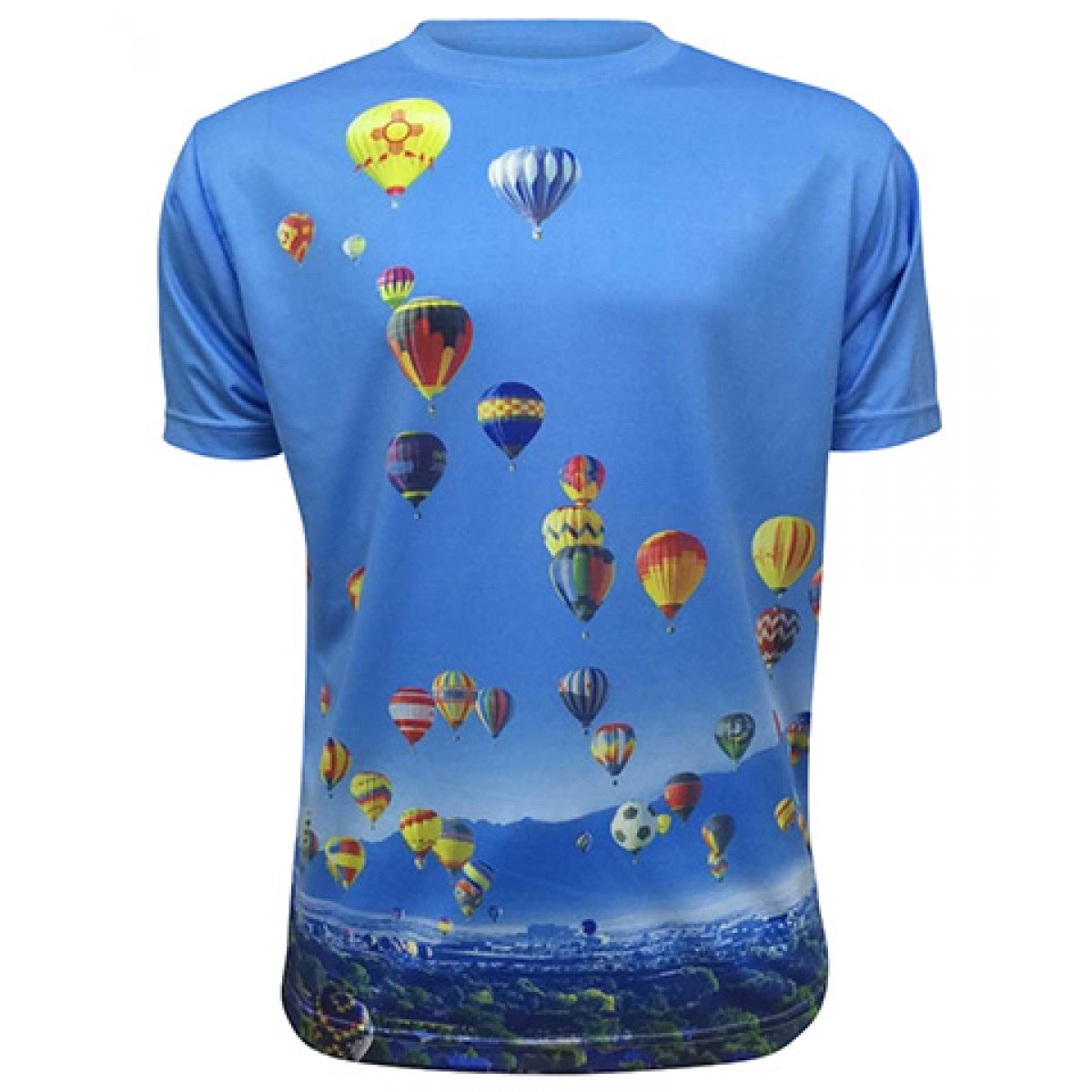 AIBF Sublimated Short Sleeve-Blue-2XL