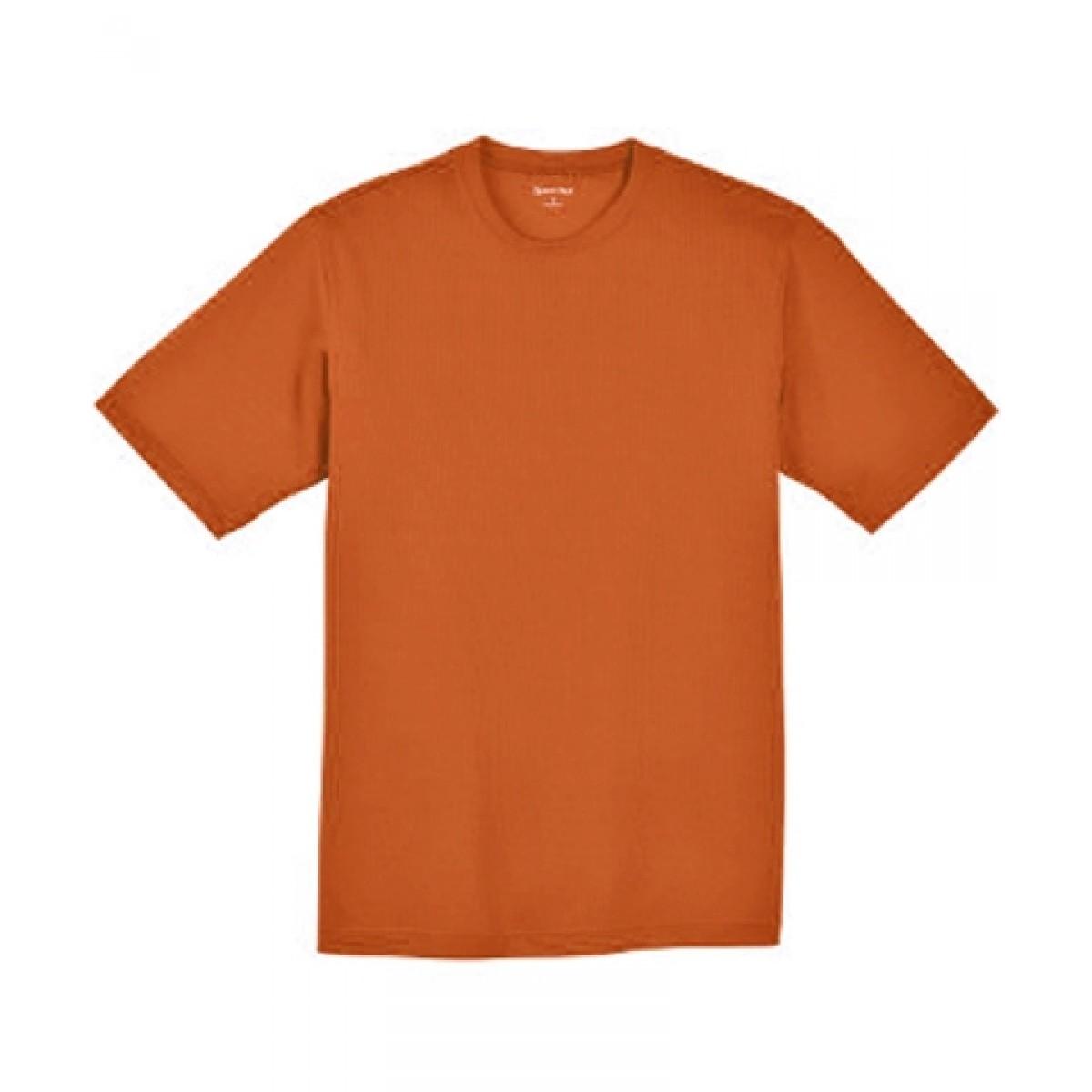 CLOSEOUT!!! SS Dri-Fit Tees-Orange-S