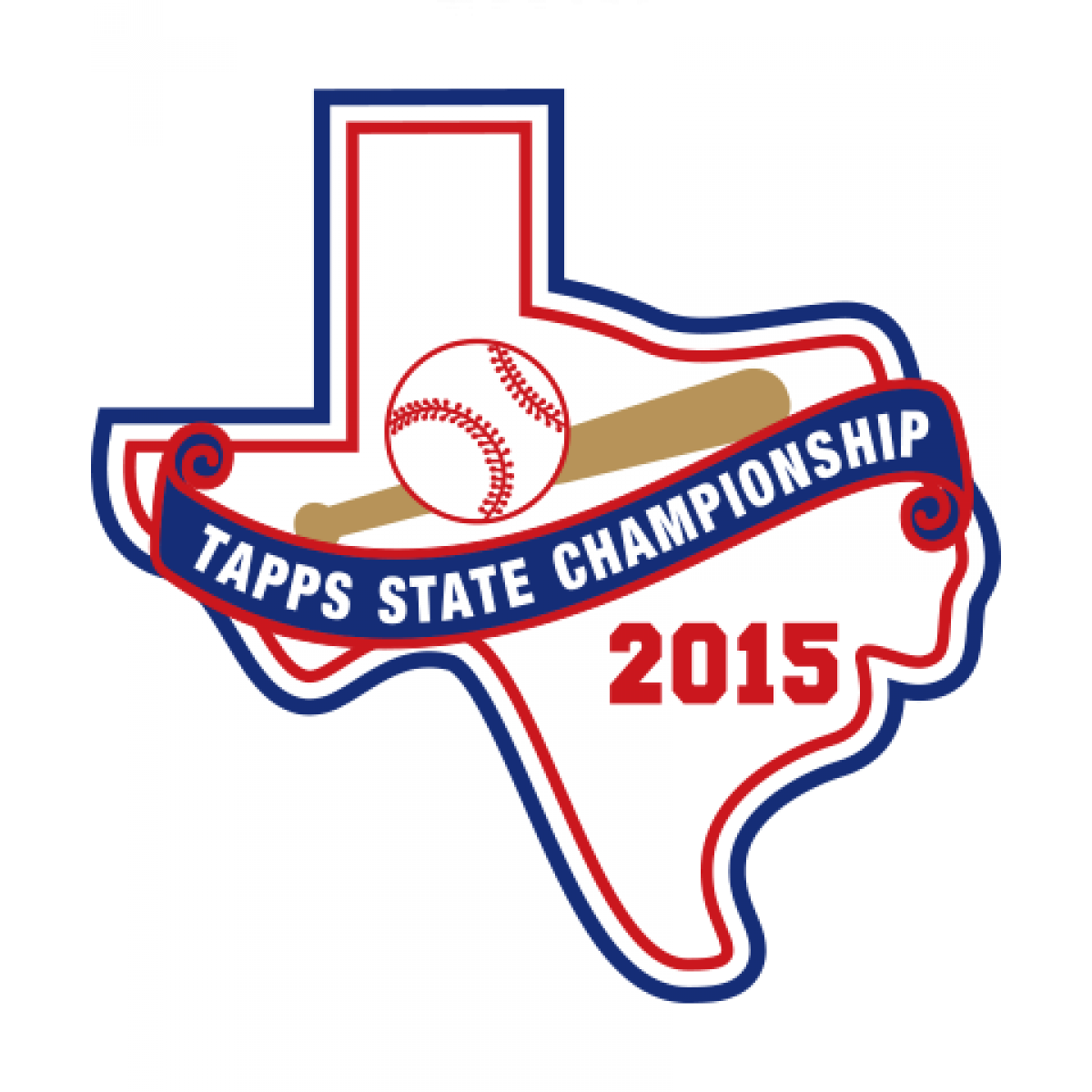 Felt TAPPS 2015 Baseball State Patch