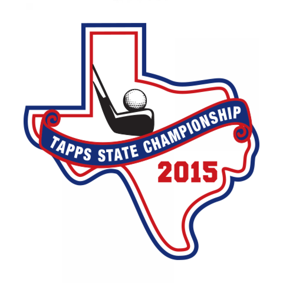 Chenille TAPPS 2015 Golf State Patch