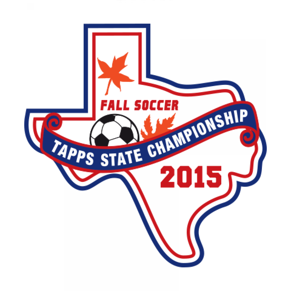Felt TAPPS 2015 Soccer State Patch