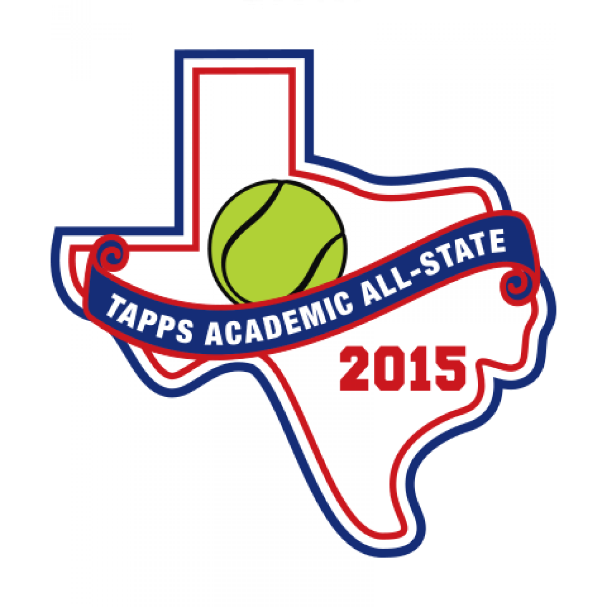 Felt 2015 Academic All State Patch