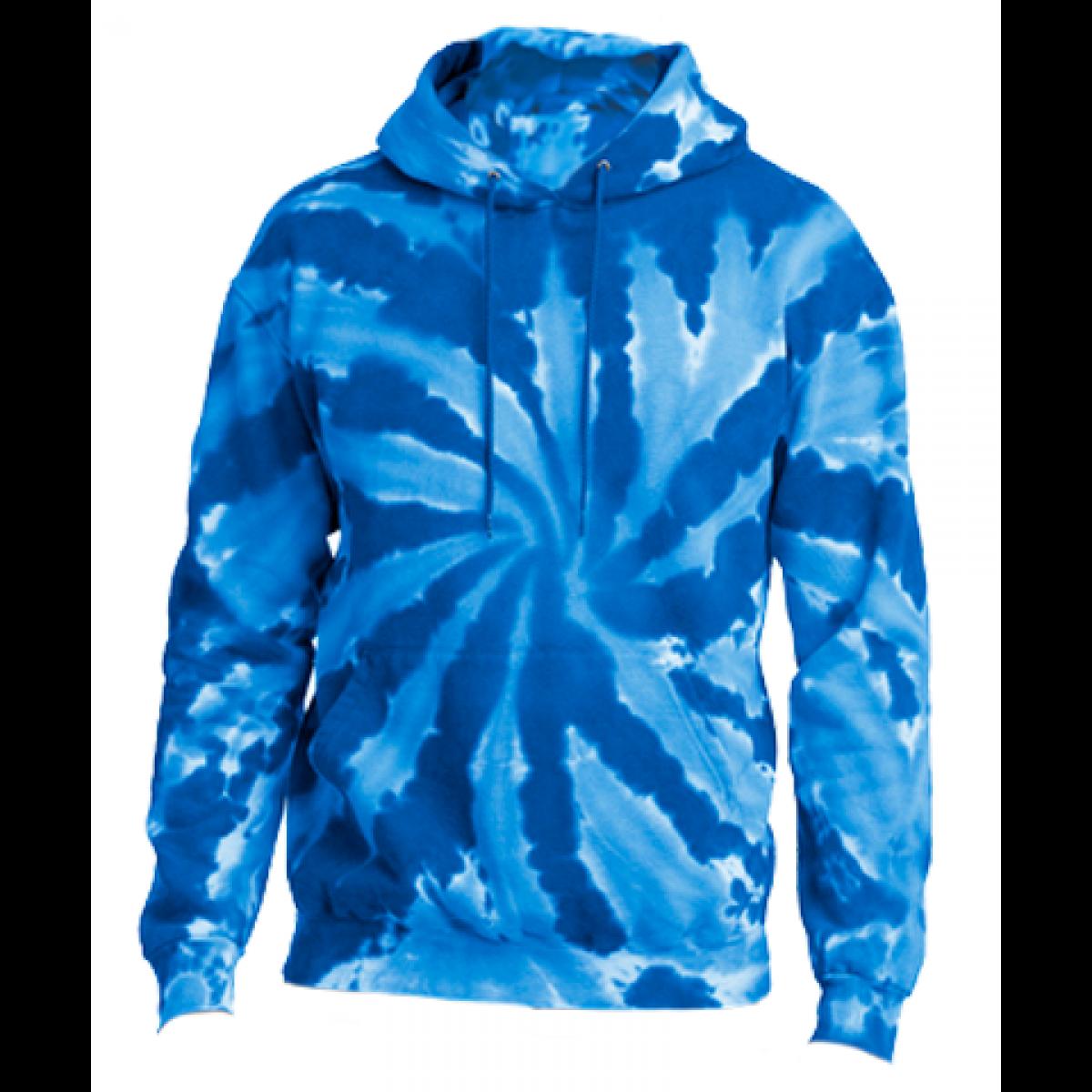 Cotton Hoody / Tie Dye Blue