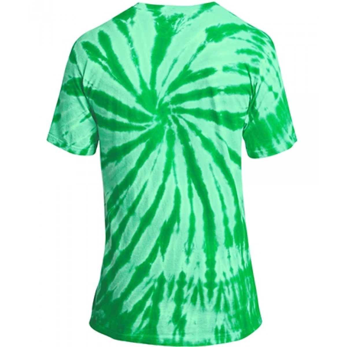 Essential Tie-Dye Tee-Green-YS