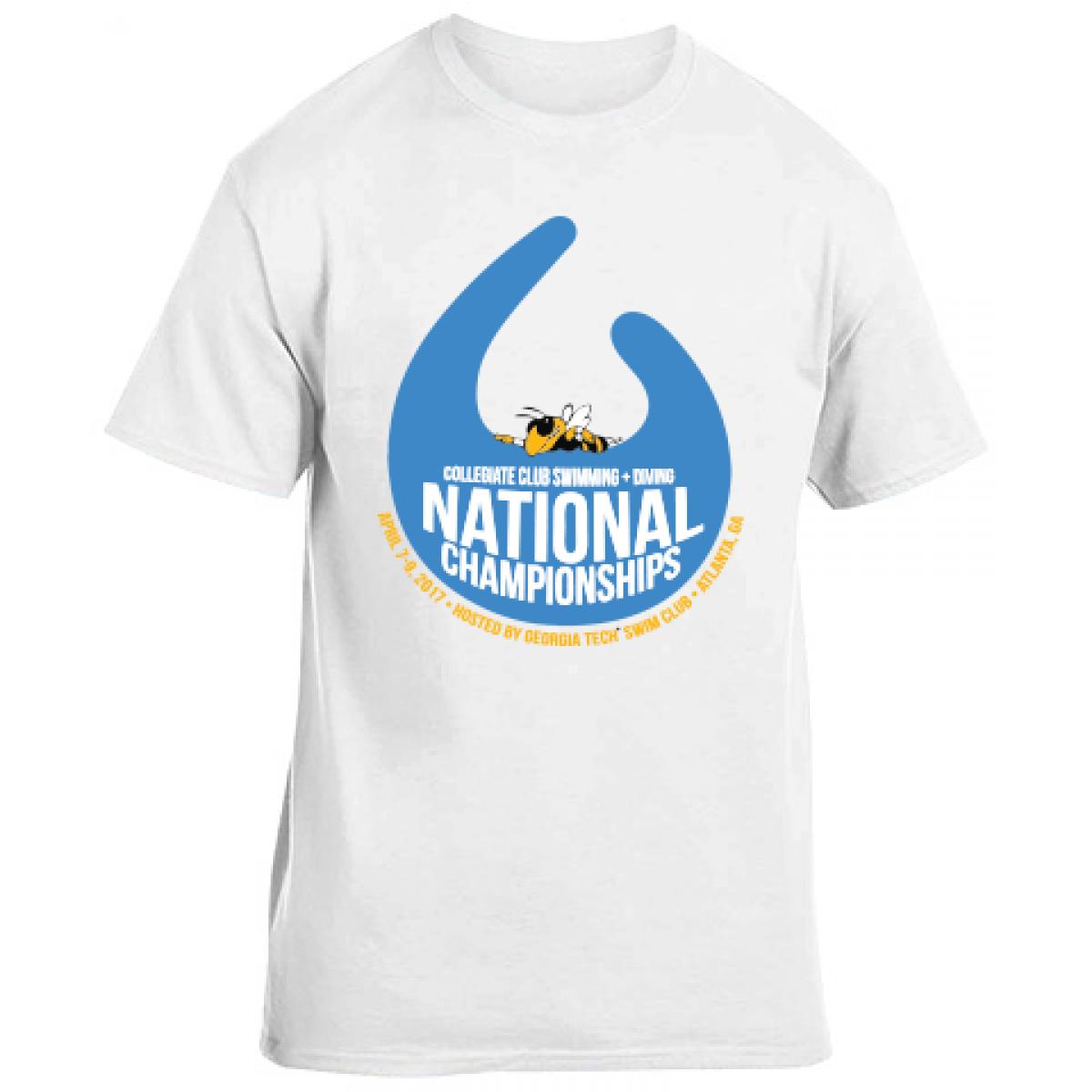 Collegiate Club Cotton Short Sleeve T-Shirt-YM