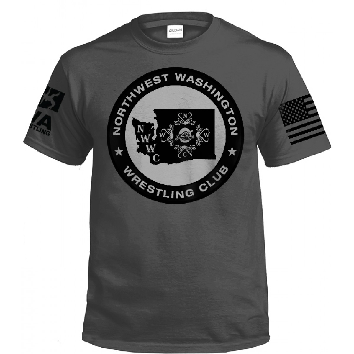 NWWC Grey T-shirt -Gray -2XL