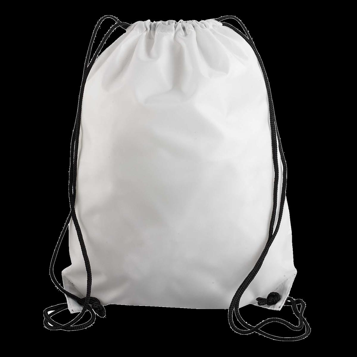 UltraClub Drawstring Backpack-Gray -OS
