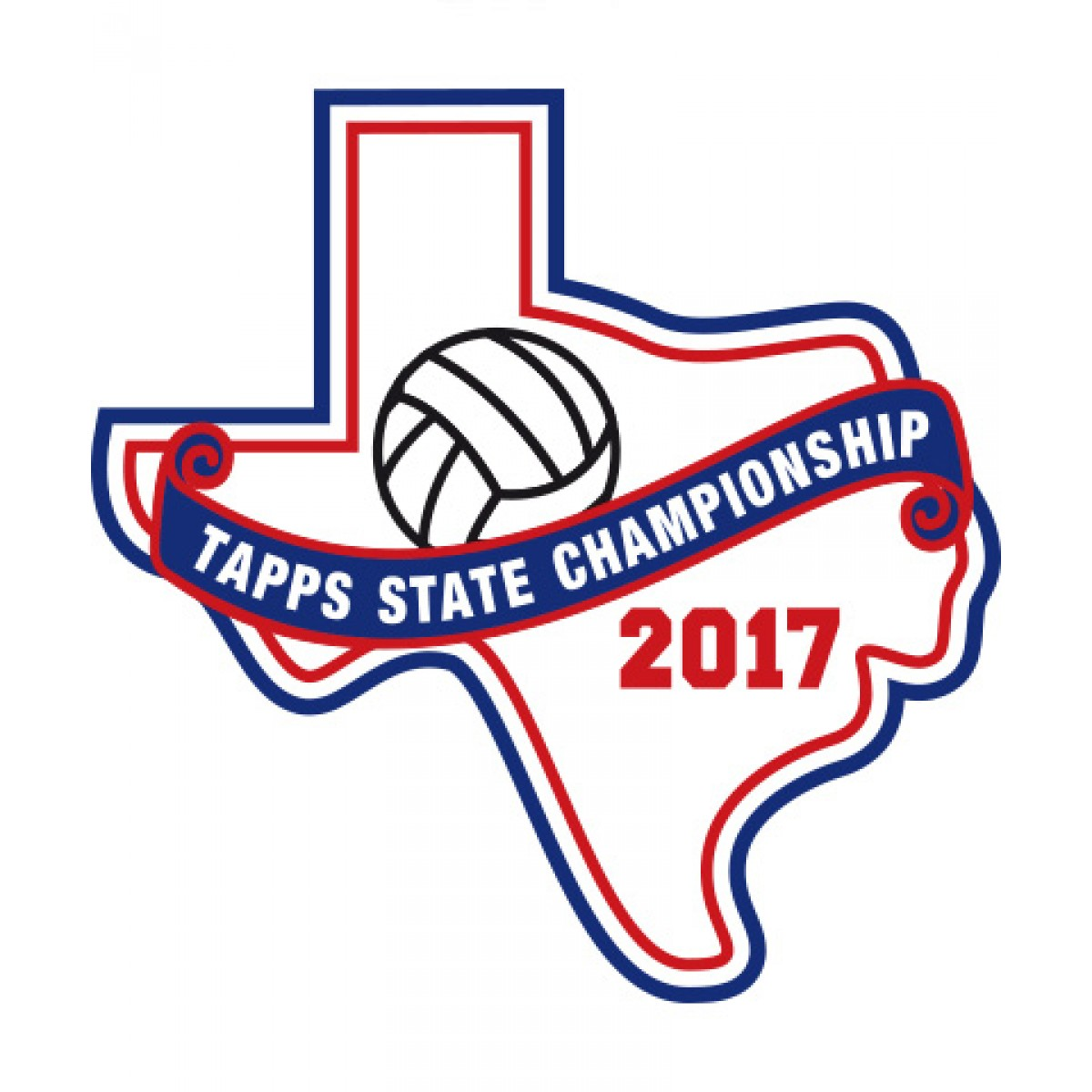 Felt 2017 TAPPS Volleyball State Patch