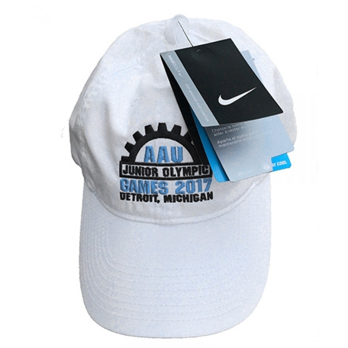 White Nike AAU Junior Olympics Hat