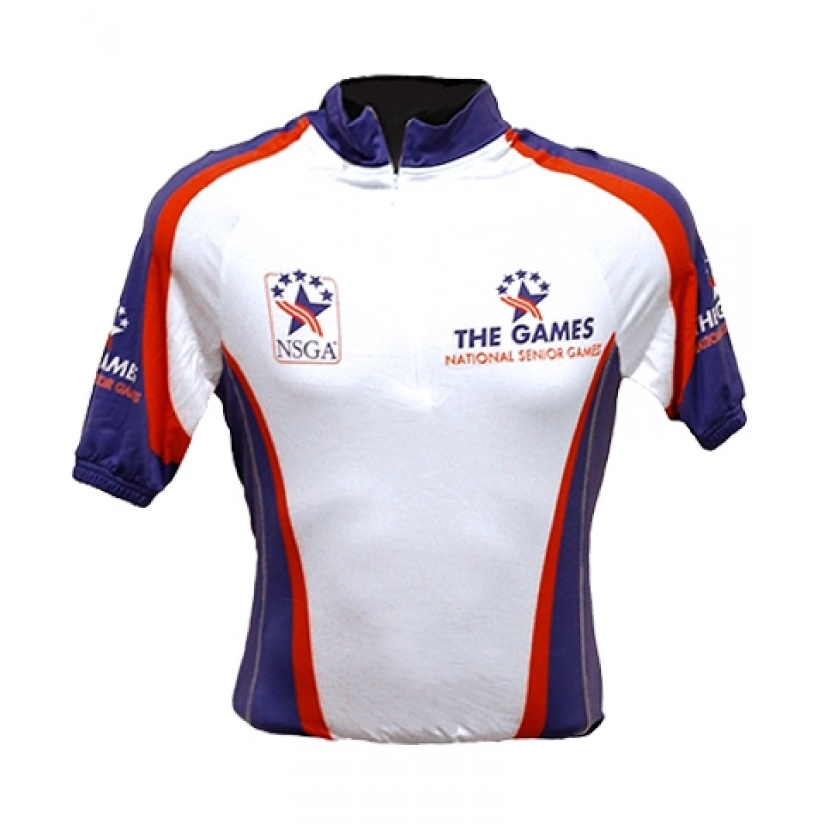 Senior Games Cycling Jersey