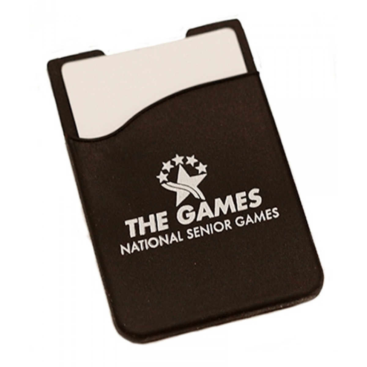 Rubber Cell Phone Card Sleeve