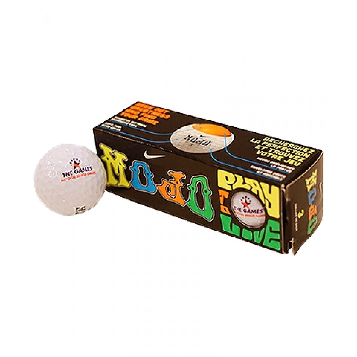 Set of 3 Senior Games Golf Balls