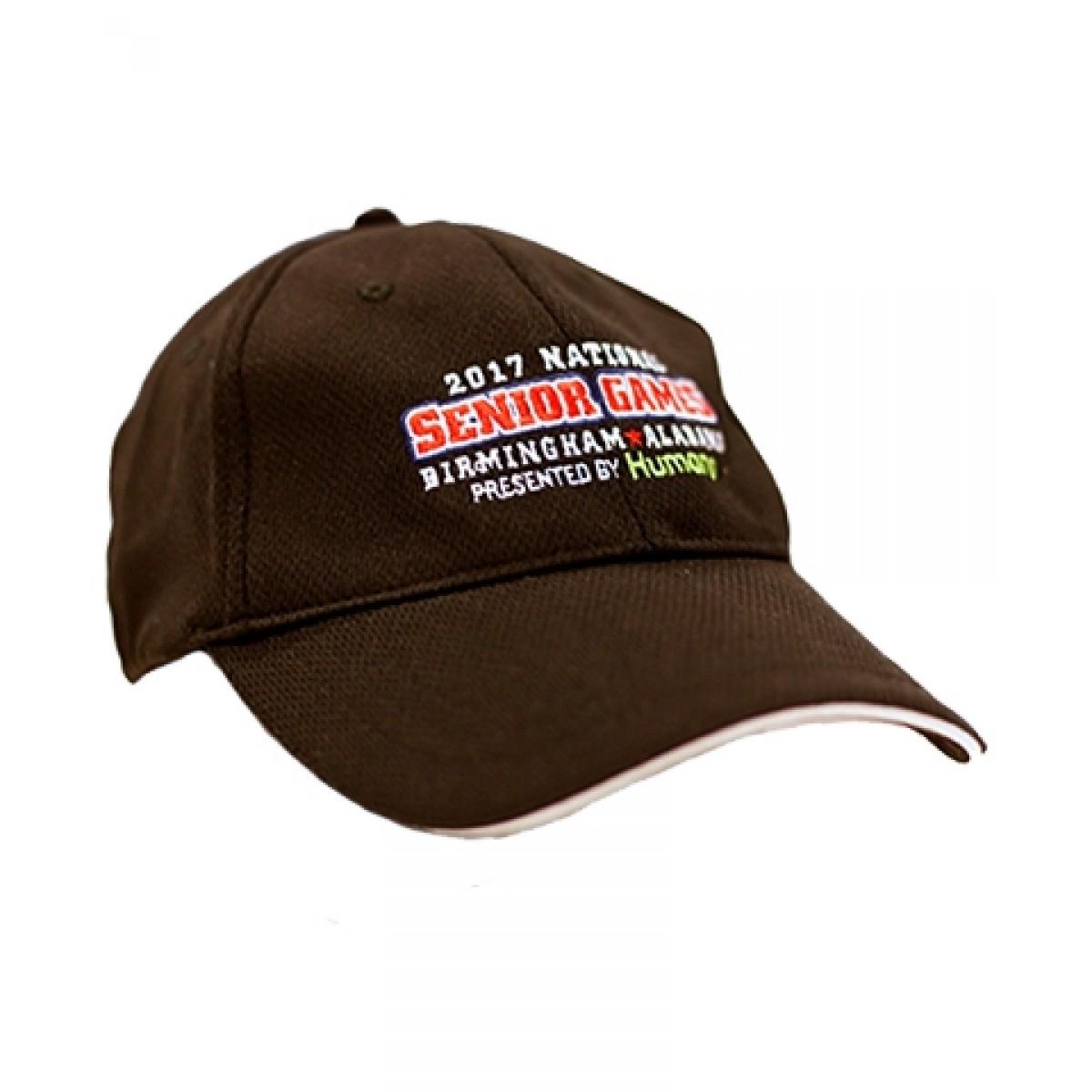 Embroidered Senior Games Hat