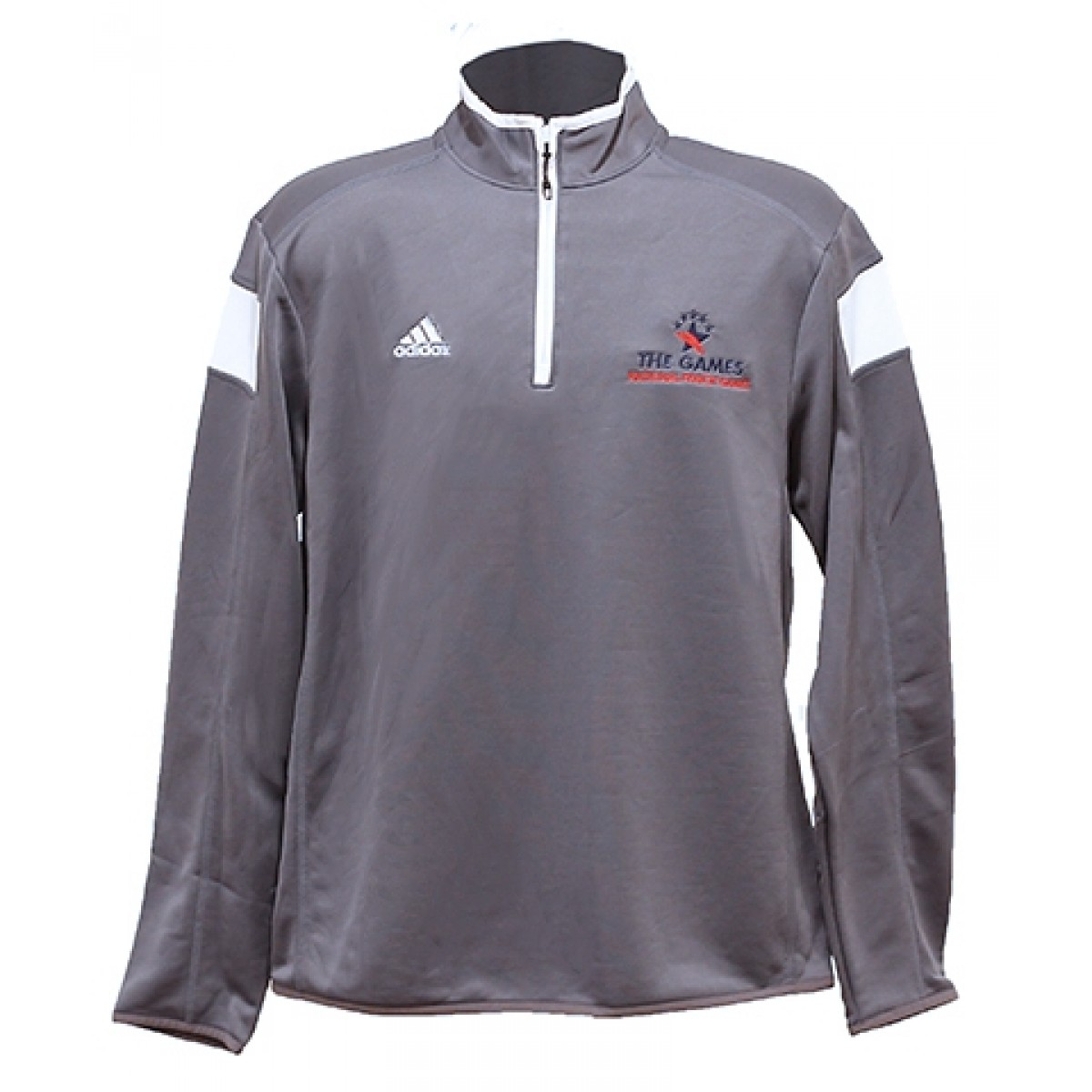 Adidas 1/4 Zip Pullover w/ Embroidered Logo