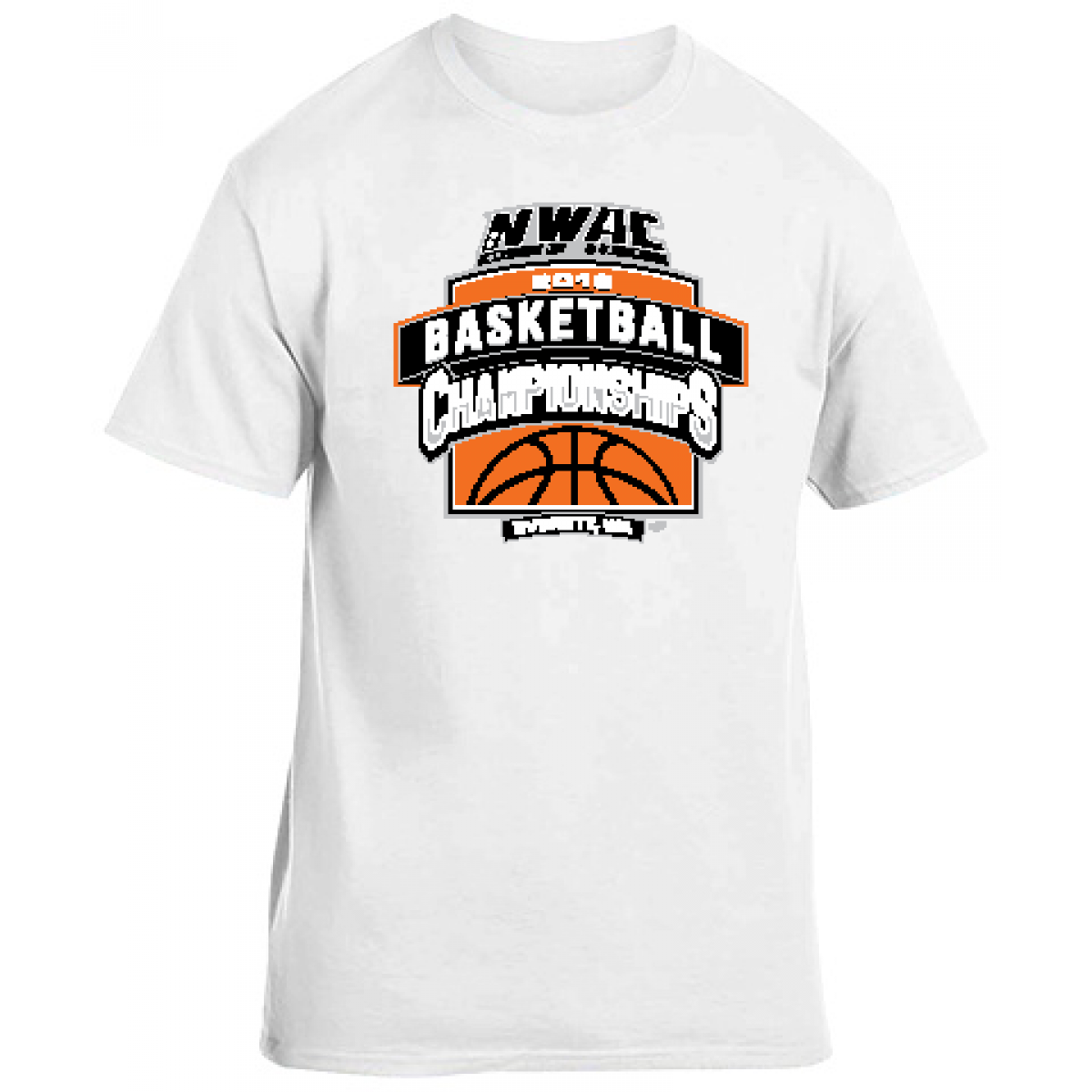 Basketball NWAC National Guard Special Item-White-3XL