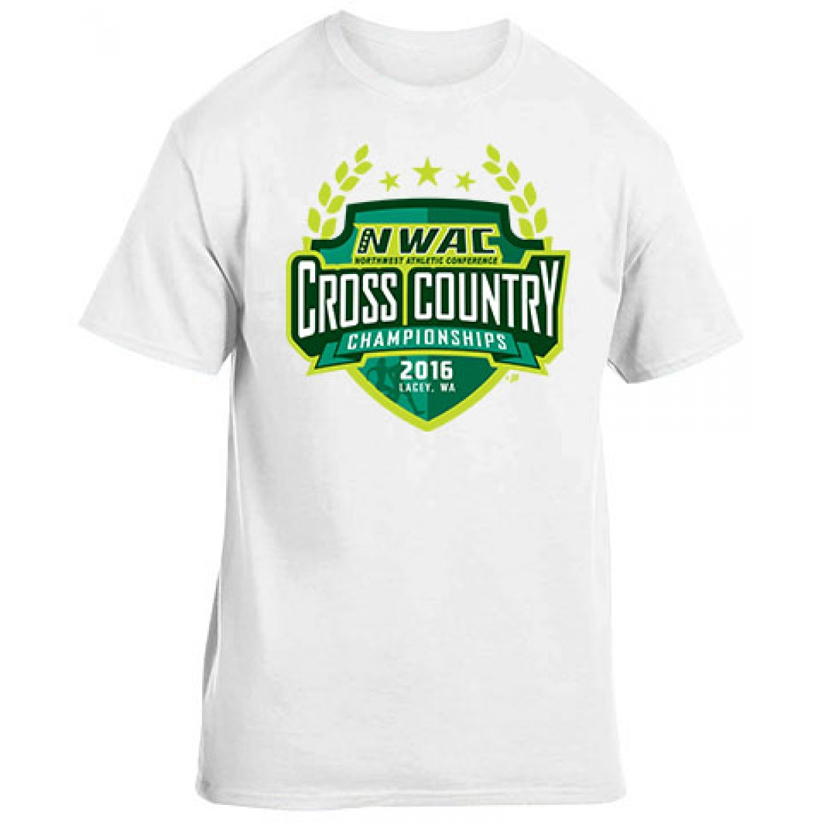 NWAC Cross Country Special Item-White-L