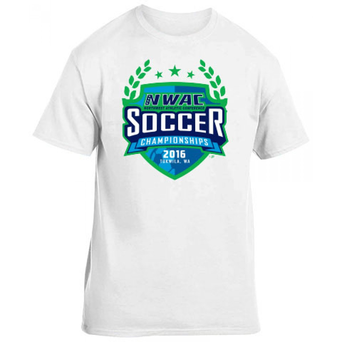 2016 NWAC Soccer Championships Special Item-White-YL