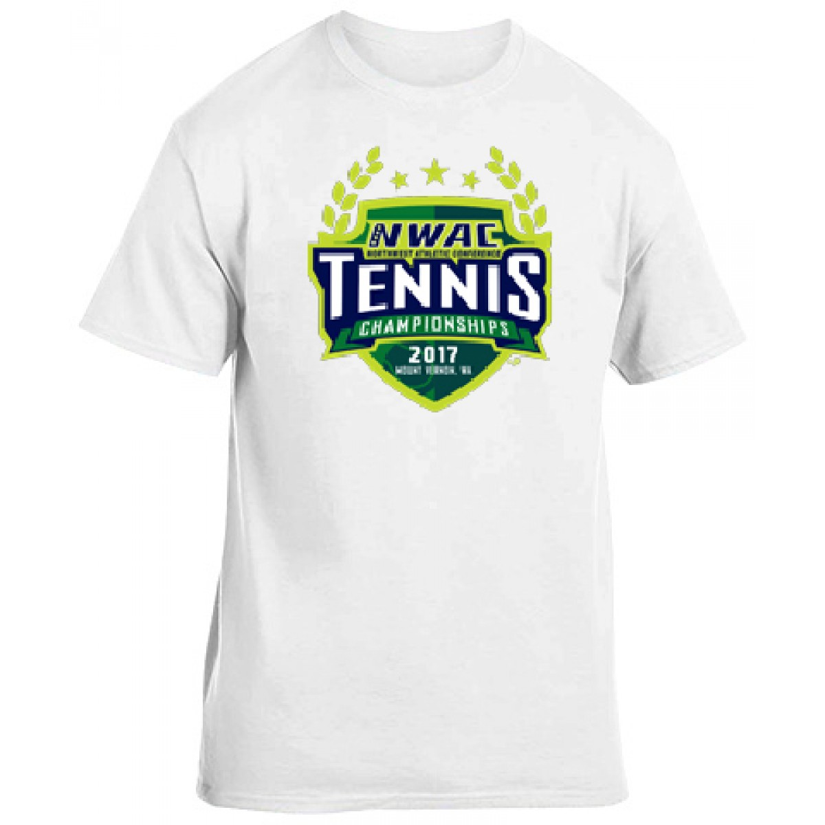 National Guard NWAS Tennis T-shirt -White-YL